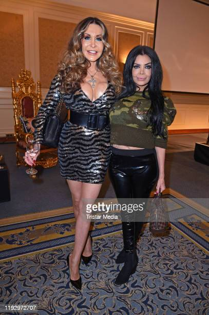 Dolly Buster and Kader Loth attend the Julian Stoeckel public viewing for german RTL TV Show Ich bin ein Star holt mich hier raus at Hotel Palace on...