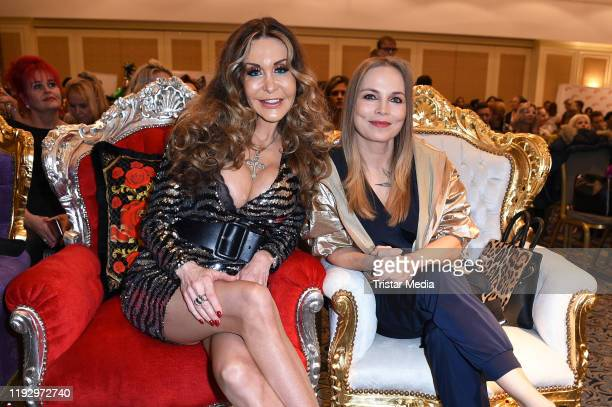 Dolly Buster and Regina Halmich attend the Julian Stoeckel public viewing for german RTL TV Show Ich bin ein Star holt mich hier raus at Hotel Palace...