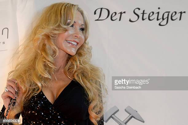 Dolly Buster arrives for the Steiger Award 2014 at Heinrichshuette on October 3 2014 in Hattingen Germany