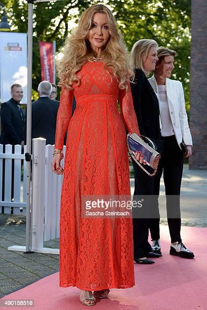 Dolly Buster arrives for the 'Steiger Award 2015' at colliery Hansemann on September 26 2015 in Dortmund Germany