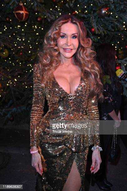 Dolly Buster attends the 16th Roncalli Weihnachtscircus at Tempodrom on December 19 2019 in Berlin Germany