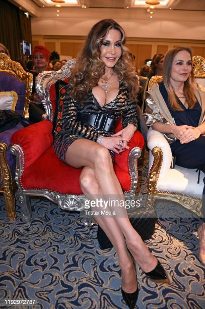 Dolly Buster attends the Julian Stoeckel public viewing for german RTL TV Show Ich bin ein Star holt mich hier raus at Hotel Palace on January 10...