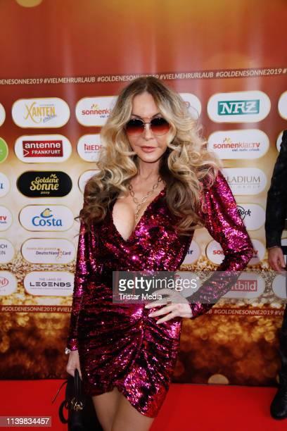 Dolly Buster during the Goldene Sonne Award 2019 on April 27 2019 in Kalkar Germany