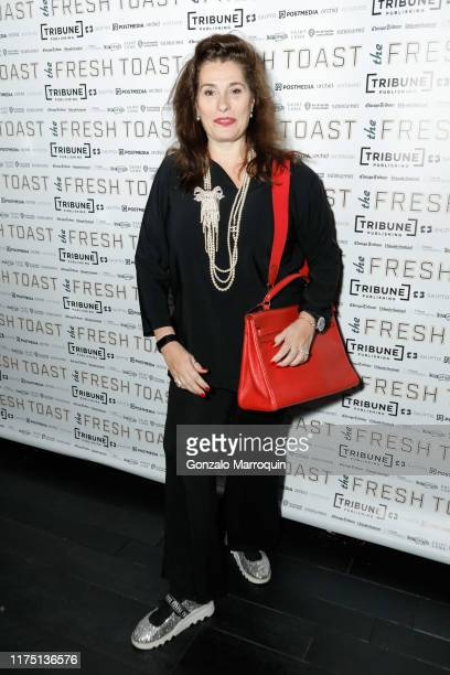 Dolly Fox attends The Fresh Toast Celebration Event at TAO Downtown on October 7 2019 in New York City