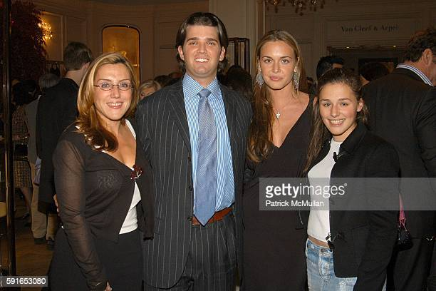 Dolly Lenz Donald Trump Jr Vanessa Haydon and Jenny Lenz attend YVES SAINT LAURENT and BERGDORF GOODMAN cocktail party to honor STEFANO PILATI at...
