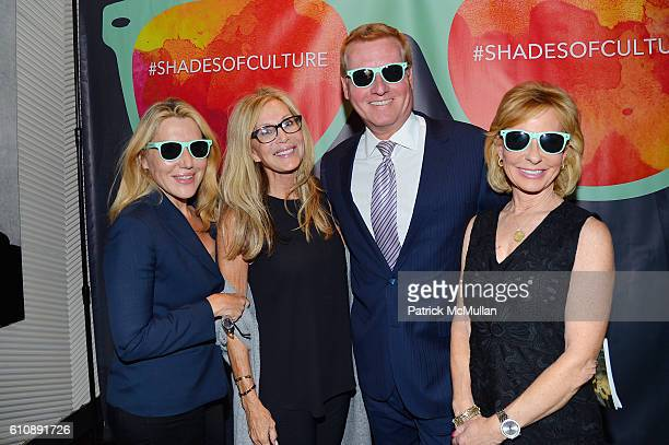 Dolly Lenz Gail Sitomer Harry Martin and Sarah Wallace attend the Cultural Council of Palm Beach County Previews Cultural Season at NYC's CORE Club...
