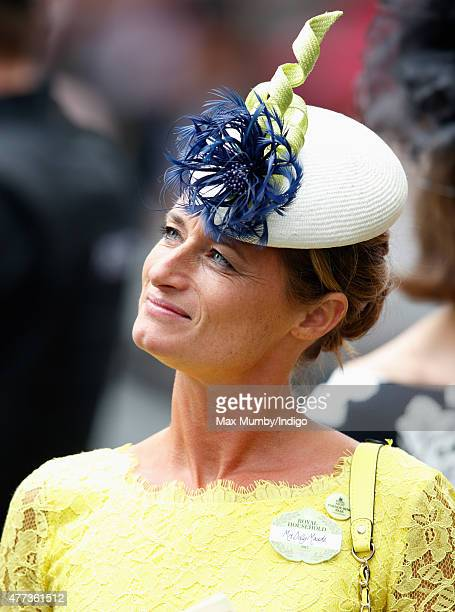 Dolly Maude attends day 1 of Royal Ascot at Ascot Racecourse on June 16 2015 in Ascot England