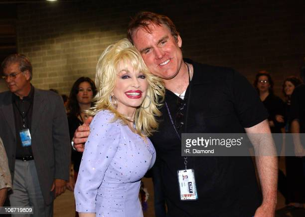 Dolly Parton and Brian Philips GM CMT at the Top 12 love fest concert for CMT 100 GREATEST LOVE SONGS debuting on Sunday June 13 at 4001000 PM ET/PT*...