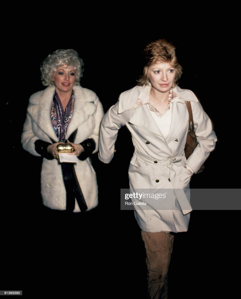 Dolly Parton and Judy Ogle Sighting - October 30, 1980 : News Photo