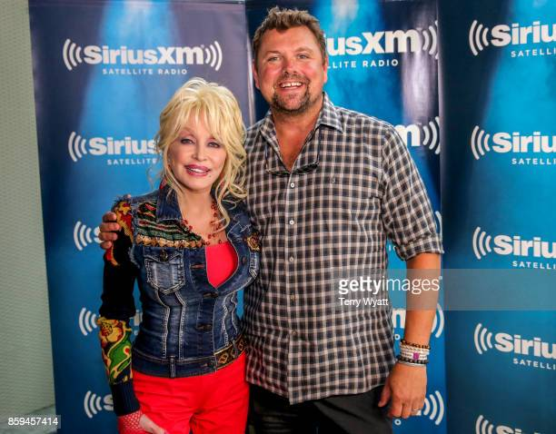 Dolly Parton and Storme Warren attend SiriusXM Presents Dolly Parton On Kids Place Live At Nashville Music City Theatre On October 9 2017 on October...