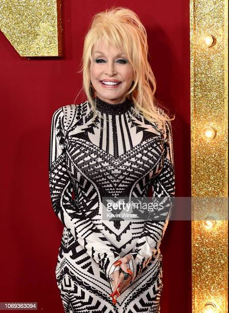 Dolly Parton arrives at the premiere of Netflix's Dumplin' at the Chinese Theater on December 6 2018 in Los Angeles California