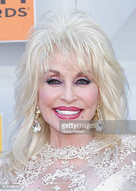 Dolly Parton attends the 51st Academy of Country Music Awards at MGM Grand Garden Arena on April 3 2016 in Las Vegas Nevada