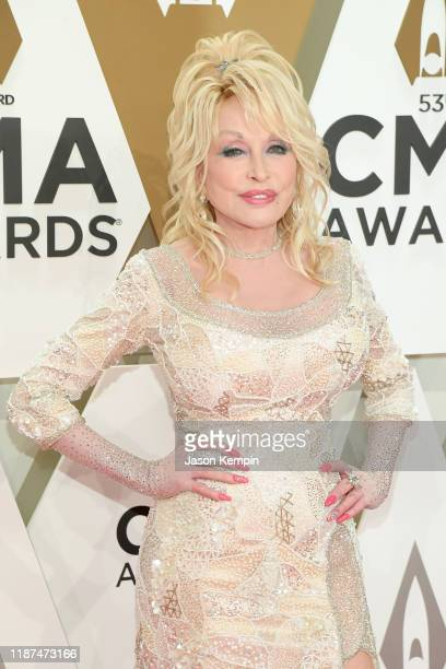 Dolly Parton attends the 53rd annual CMA Awards at the Music City Center on November 13, 2019 in Nashville, Tennessee.