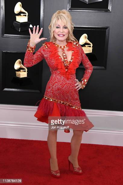 Dolly Parton attends the 61st Annual GRAMMY Awards at Staples Center on February 10 2019 in Los Angeles California