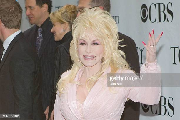 Dolly Parton attends the '63rd Annual Tony Awards' at Radio City Music Hall in New York City