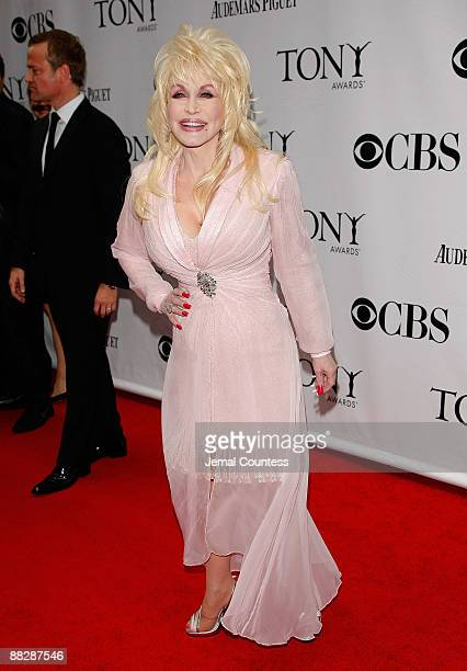 Dolly Parton attends the 63rd Annual Tony Awards at Radio City Music Hall on June 7 2009 in New York City