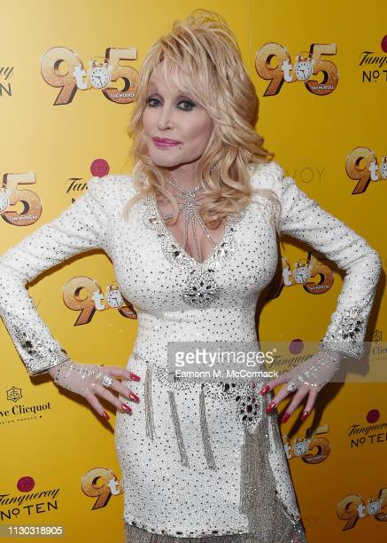 Dolly Parton attends the gala evening of Dolly Parton's '9 TO 5' The Musical at The Savoy Theatre on February 17 2019 in London England