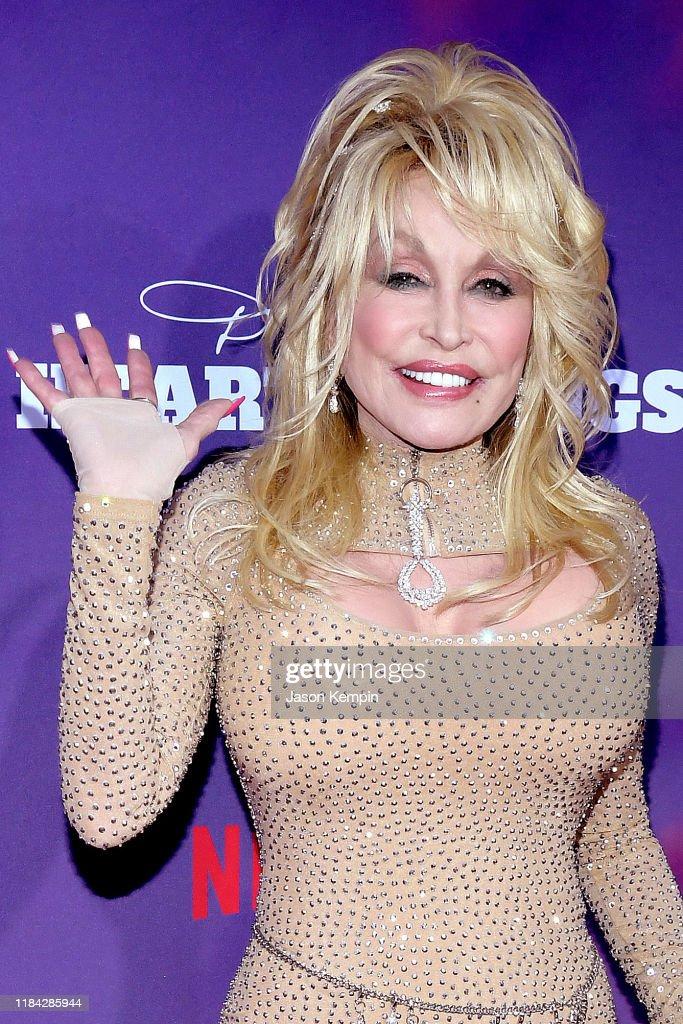 "Netflix Premiere Of Dolly Parton's ""Heartstrings"" : News Photo"