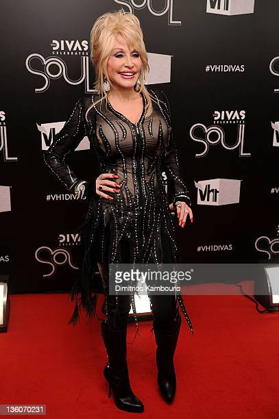Dolly Parton attends VH1 Divas Celebrates Soul at Hammerstein Ballroom on December 18 2011 in New York City
