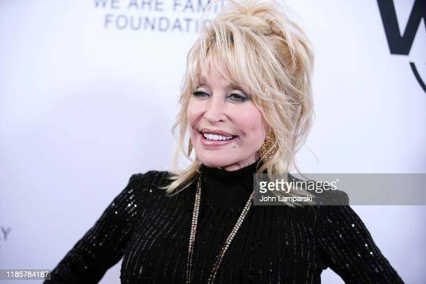 Dolly Parton attends We Are Family Foundation honors Dolly Parton Jean Paul Gaultier at Hammerstein Ballroom on November 05 2019 in New York City