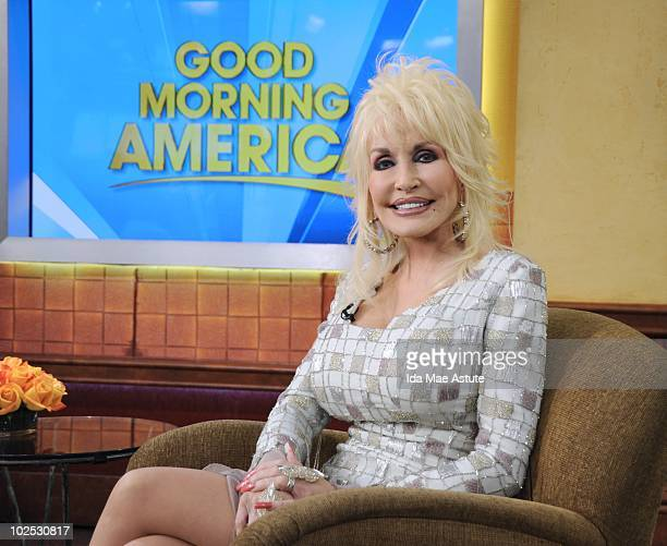 AMERICA Dolly Parton celebrates the 25th anniversary of her theme park Dollywood with a visit to GOOD MORNING AMERICA 6/29/10 airing on the Walt...