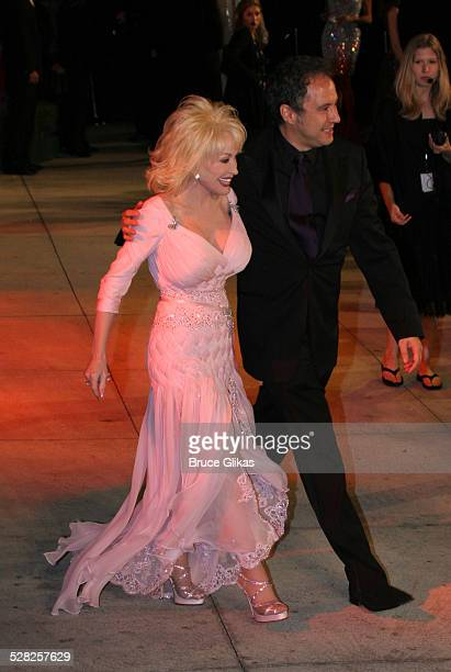 Dolly Parton during 2006 Vanity Fair Oscar Party at Morton's in West Hollywood California United States