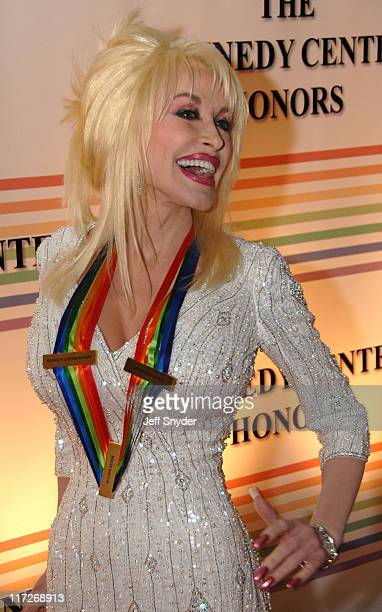 Dolly Parton during 29th Annual Kennedy Center Honors at John F Kennedy Center for the Performing Arts in Washington DC United States