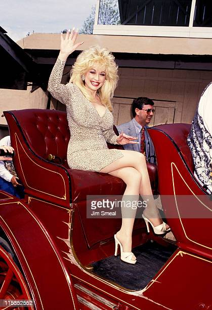 Dolly Parton during 8th Season Grand Opening of Dollywood at Dollywood in Pigeon Forge TN United States