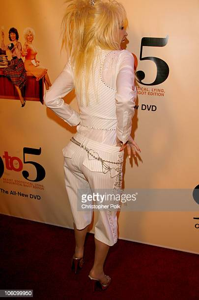 Dolly Parton during '9 to 5' 25th Anniversary Special Edition DVD Launch Party March 30 2006 at The Annex in Hollywood California United States
