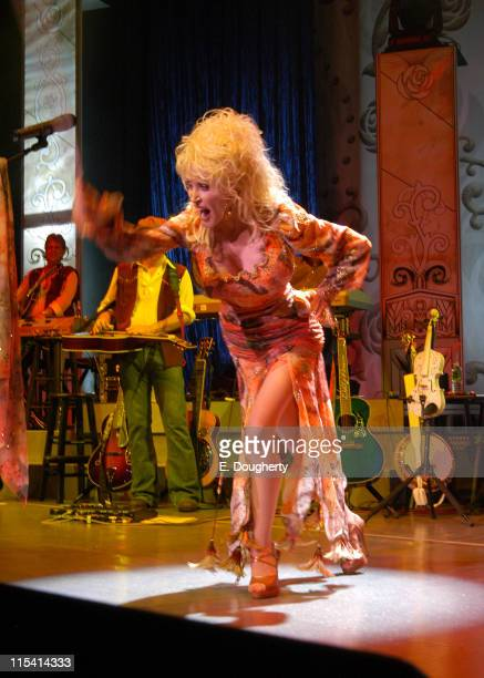 Dolly Parton during Dolly Parton in Concert at Radio City Music Hall in New York City August 18 2005 at Radio City Music Hall in New York City New...