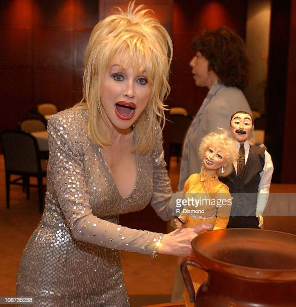 """Dolly Parton during G-CAPP'S """"The Retro Premier"""" of 9 to 5- Live Auction at Woodruff Arts Center in Atlanta, Georgia, United States."""