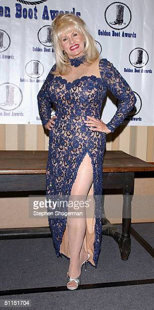 Dolly Parton impersonator Charlene RoseMasuda attends the Golden Boot Awards at the Sheraton Universal Hotel on August 7 2004 in Universal City...