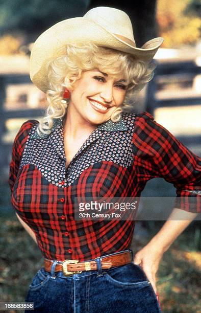 Dolly Parton in publicity portrait for the film 'Rhinestone', 1984.