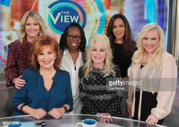 THE VIEW Dolly Parton is the guest today Monday October 16 2016 on Walt Disney Television via Getty Images's The View The View airs MondayFriday on...