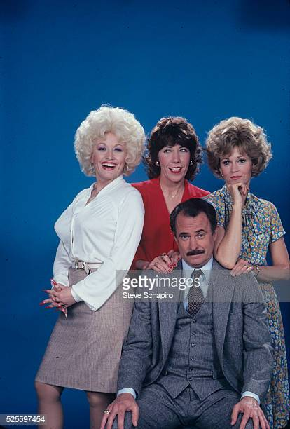Dolly Parton Lily Tomlin Dabney Coleman and Jane Fonda