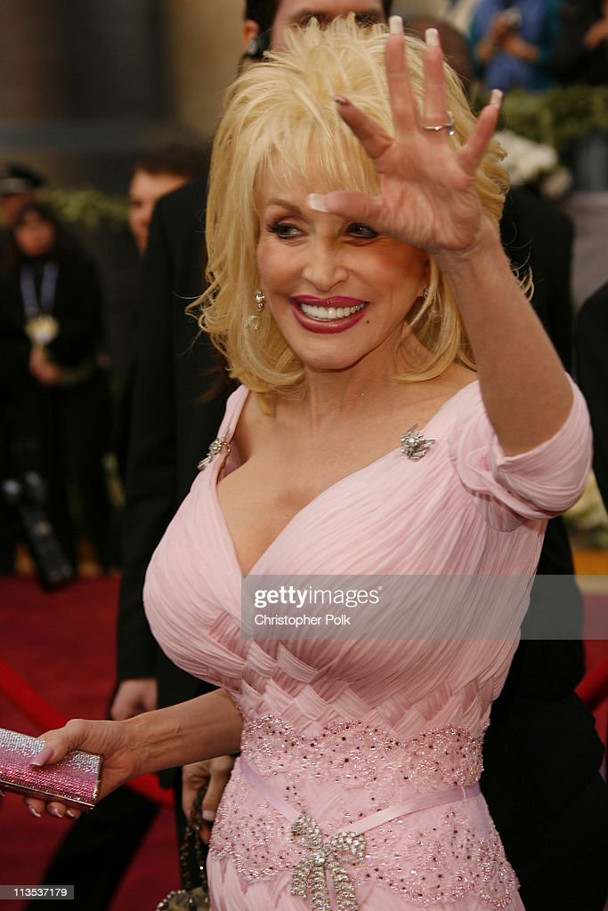 "Dolly Parton, nominee Best Song for ""Travelin' Thru"" from ""Transamerica"""
