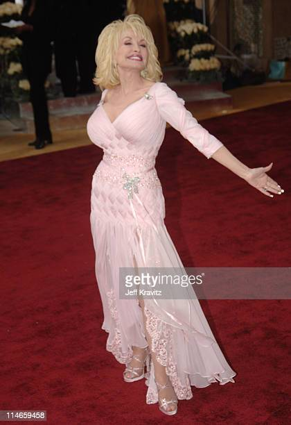 """Dolly Parton, nominee Best Song for """"Travelin' Thru"""" from """"Transamerica"""""""