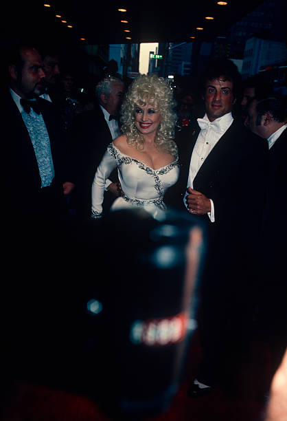Dolly Parton and  Sylvester Stallone