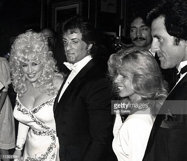 Dolly Parton Sylvester Stallone wife Sasha Stallone and Frank Stallone