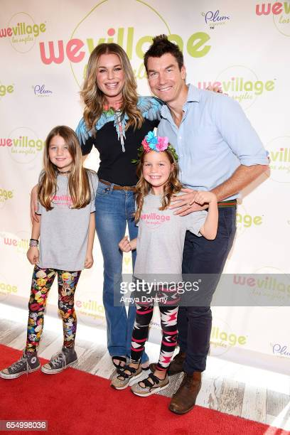 Dolly Rebecca Rose O'Connell Rebecca Romijn Charlie Tamara Tulip O'Connell and Jerry O'Connell attend the Grand Opening Party For WeVillage at...
