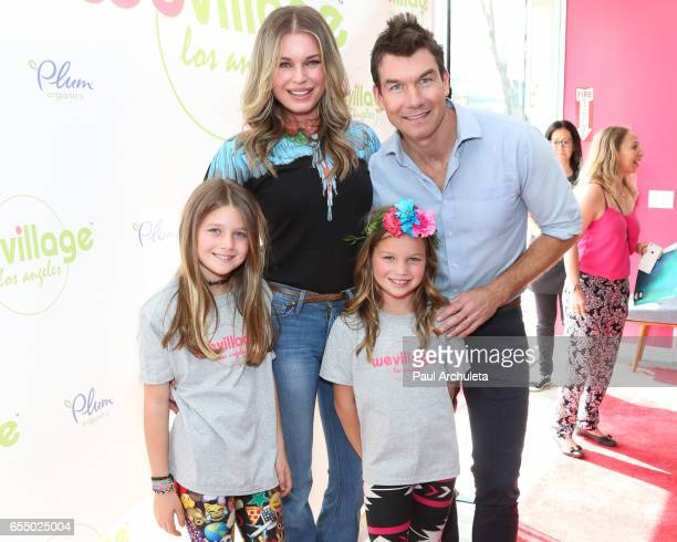 Dolly Rebecca Rose O'Connell Rebecca Romijn Charlie Tamara Tulip O'Connell and Jerry O'Connell attends the grand opening party for WeVillage at...