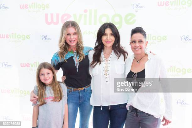 Dolly Rebecca Rose O'Connell Rebecca Romijn Charlie Tamara Tulip O'Connell Karen Beninati and Bridget Cardenas attend the Grand Opening Party For...