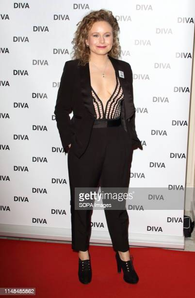 Dolly Rose Campbell at the DIVA Magazine Awards at the The Waldorf Hilton Aldwych London
