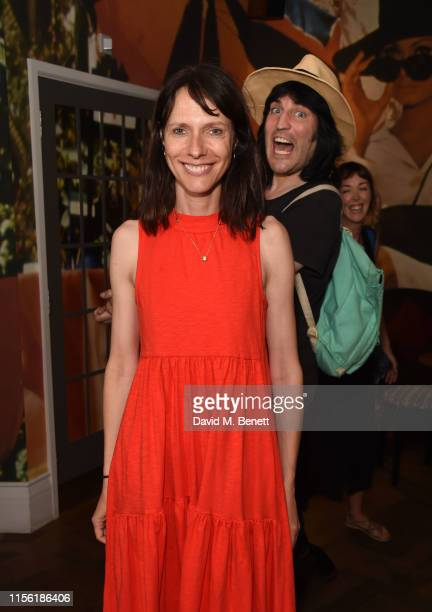 Dolly Wells and Noel Fielding attend a special screening of Snapshots a short film by Lliana Bird Phoebe Barran at the Everyman Maida Vale on July 17...