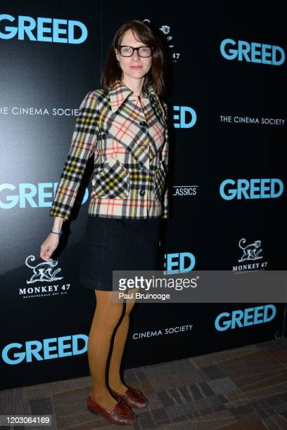 "Dolly Wells attends The Cinema Society & Monkey 47 Host A Special Screening Of Sony Pictures Classics' ""Greed"" at Cinepolis Chelsea on February 24,..."