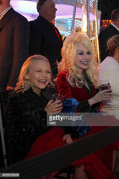 CIRCLE OF LOVE Dollywood Premiere Pictured Alyvia Alyn Lind Dolly Parton