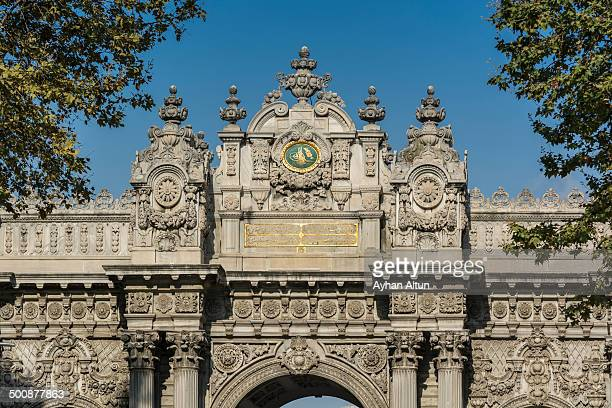 CONTENT] Dolmabahce Palace located in the Besiktas district of Istanbul Turkey on the European coastline of the Bosphorus strait served as the main...