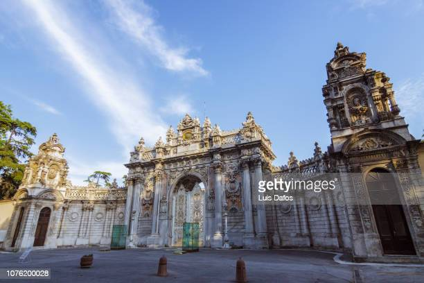 dolmabahce palace - dafos stock photos and pictures