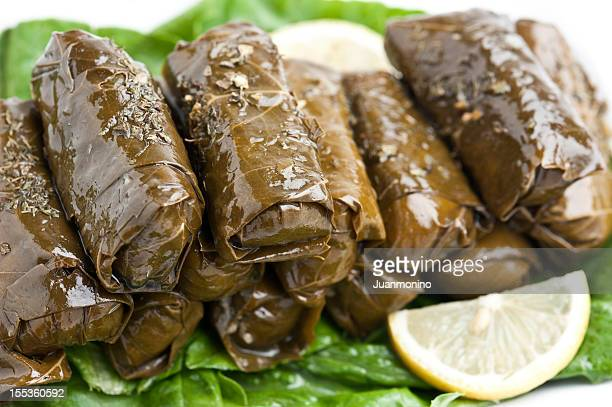 dolmades - dolmades stock pictures, royalty-free photos & images