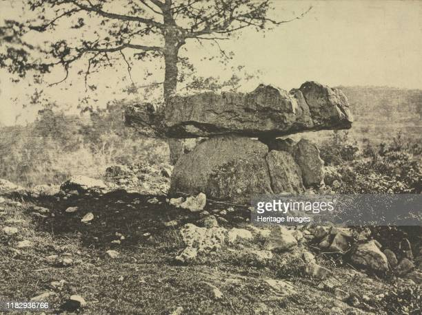 Dolmen Cap del Puetch Ariège France circa 18651869 A Britishborn photographer Taylor lived in Marseille and became a member of the Société Française...